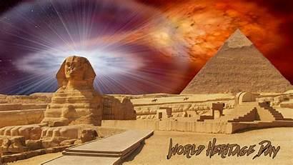 Egypt Pyramid Laptop Heritage Sphinx