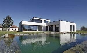 Modernes Haus Grundriss : massivhaus l form ~ Lizthompson.info Haus und Dekorationen
