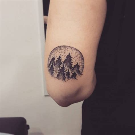 simple  easy pine tree tattoo designs meanings