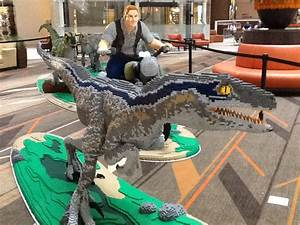 Public Invited to See LEGO Jurassic World Dinosaurs and