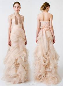 the ultimate bride blog colourful wedding dresses With nude color wedding dress
