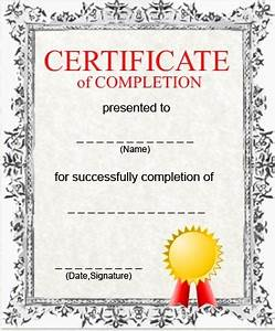 Gallery For > Certificate Of Achievement Templates Kids