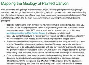 Mapping The Geology Of Painted Canyon Now It Is Ti