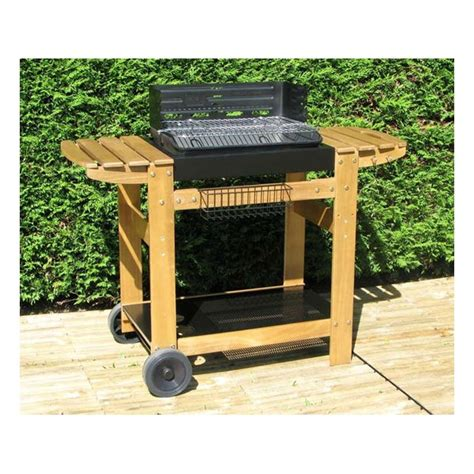 barbecue a bois en fonte barbecue charbon de bois en fonte ziloo fr