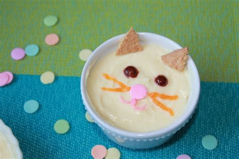 How To Make A Cat Pudding Snack For Kids Simply