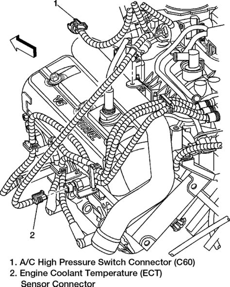 2006 Chevy V6 Engine Vacuum Diagram by Repair Guides Component Locations Component
