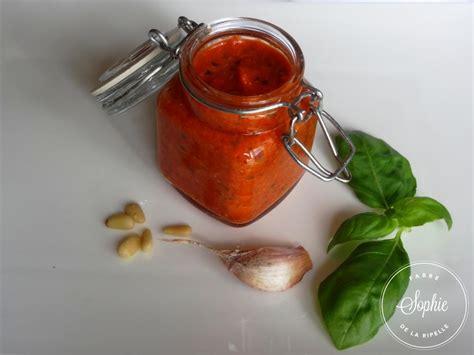 cuisine poivron pesto aux poivrons rouges la tendresse en cuisine
