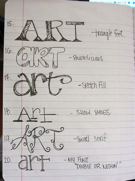 cool ways to write letters lettering 28907