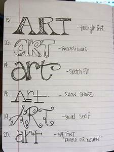 lettering With learn creative lettering