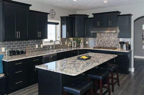 black cupboards kitchen ideas beautiful black kitchen cabinets design ideas