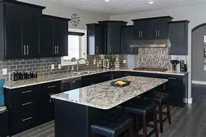 Beautiful Black Kitchen Cabinets Design Ideas