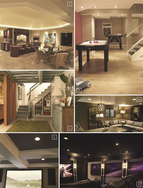 basement ceiling ideas from cove to fiber optic embedded