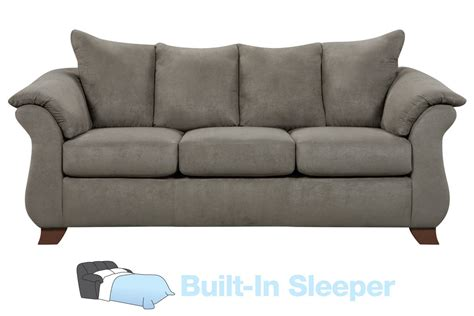 microfiber sectional sleeper upton microfiber queen sleeper sofa at gardner white