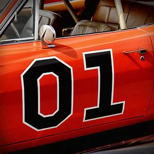 01 - The General Lee 1969 Dodge Charger Photograph by