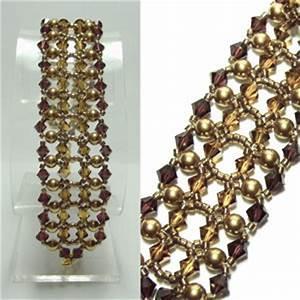 Golden Guinevere Bracelet | AllFreeJewelryMaking.com