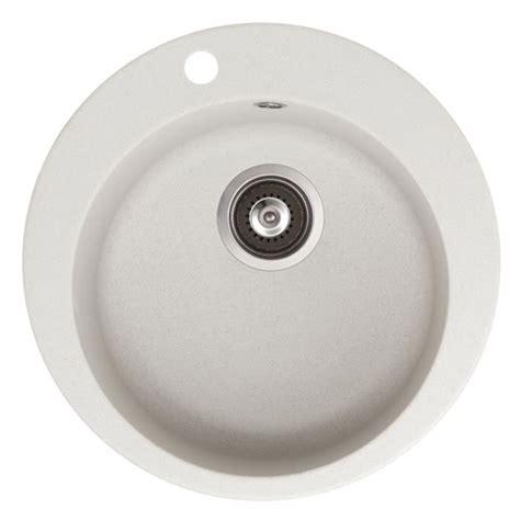 evier cuisine rond evier granit blanc rond 505x505 achat vente evier de