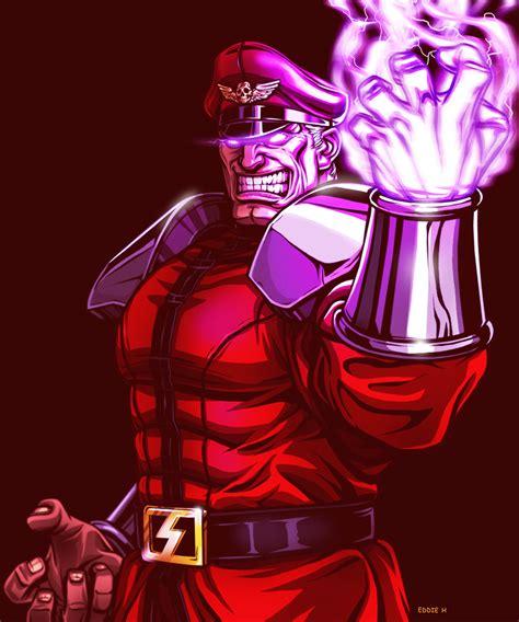 M Bison Street Fighter By Eddieholly On Deviantart
