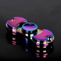 Fidget spinner aluminum colorful