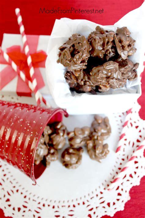 chocolate  chocolate butterscotch crock pot candy tgif