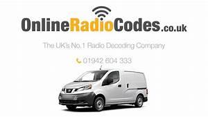 Nissan Nv200 Radio Adapter : nissan nv200 radio code stereo pin unlock codes youtube ~ Kayakingforconservation.com Haus und Dekorationen