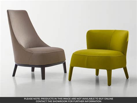 Maxalto Febo Low Back Armchair By Antonio Citterio