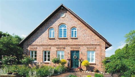 Haus Roter Klinker by Abcklinker Verblendklinker Manufacta Westfalen Rot T