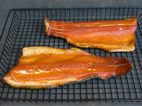 how to smoke trout smoked rainbow trout fish smoked in the bradley smoker
