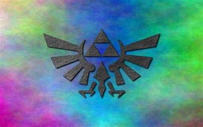 Zelda Legend Background Desktop Triforce Wallpapers Laptop