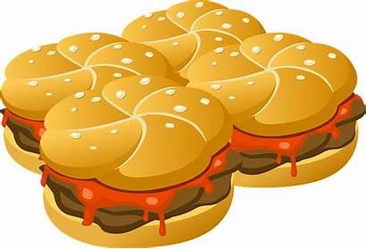 Burger Hamburgers Fast Processed Buns Meats Burgers