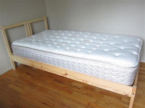 Ikea Bett Kiefer by Ikea Pine Bed Frame And Base Fjellse Saanich