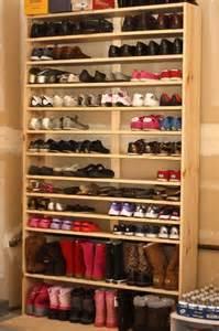 diy wood shoe rack