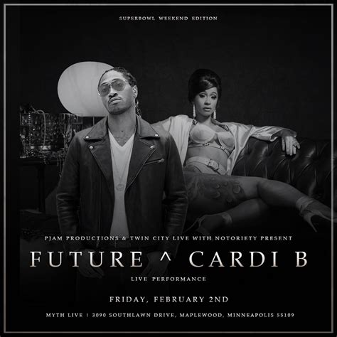 Future And Cardi B Super Bowl 2018 Weekend  Ii  2 Feb 2018