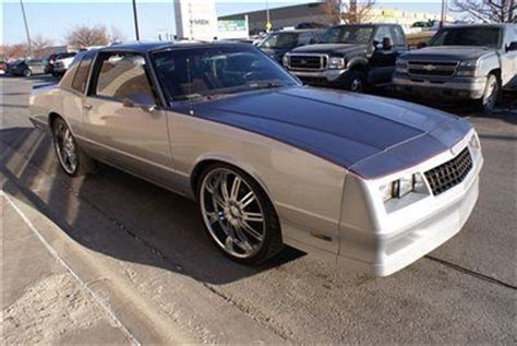 buy used 1987 chevrolet chevy monte carlo ss aero custom