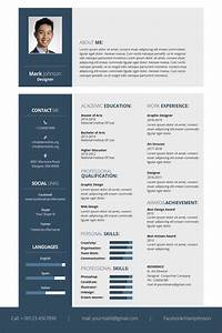 Ms Word Card Template Free Designer Resume Template In Adobe Photoshop