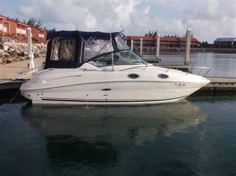 Cuddy Cabin Boats With Ac by 2006 Used Sea 240 Cuddy Cabin Boat For Sale 40 500