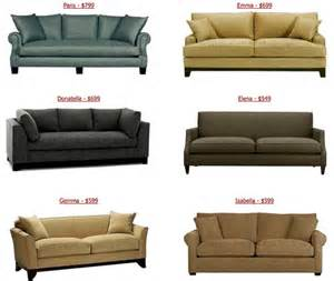 designer sofas the look for less cheap couches from custom sofa design house