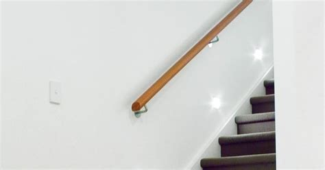 Fahrradhalterung Wand Holz by Modern Wood Handrails Wall Mounted For Stairs