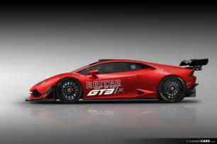 Huracan Lamborghini Race Car