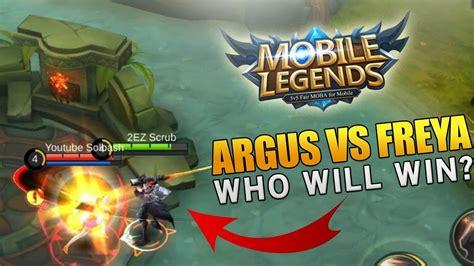 Argus Versus Freya (mobile Legends)