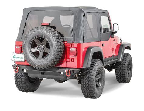 offroad jeep cj jcr offroad swbrc2 mid width crusader rear bumper for 76