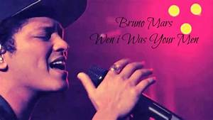 Youtube Bruno Mars : bruno mars when i was your man full hq audio song youtube ~ Zukunftsfamilie.com Idées de Décoration