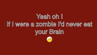 Lyrics Zombie Song