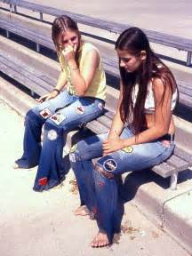 1970s Jeans with Patches