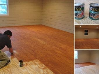cool cheap floor ls plywood cut in planks stained is awesome inexpensive