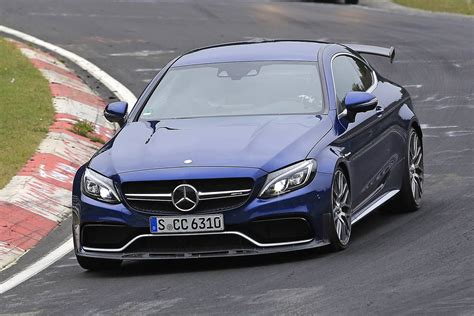 Mercedesamg C63 R Coupe Is The Spied Car You've Been