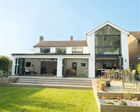 Two-storey Glass Extension