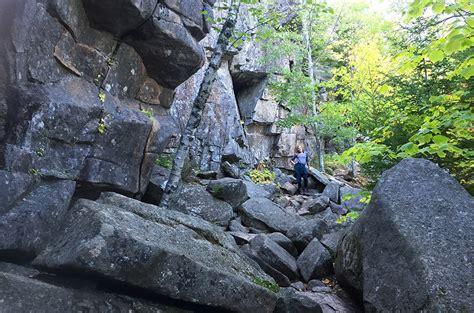 hiking acadia national park  sided travels