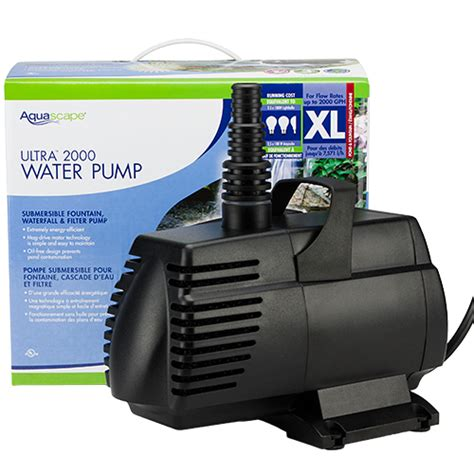 Aquascapes Pumps by Aquascape Ultra 2000 Gph Mpn 91010 Best Prices On