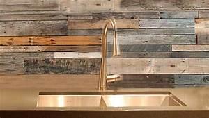 Reclaimed Wood Look Wallpaper - WallpaperSafari