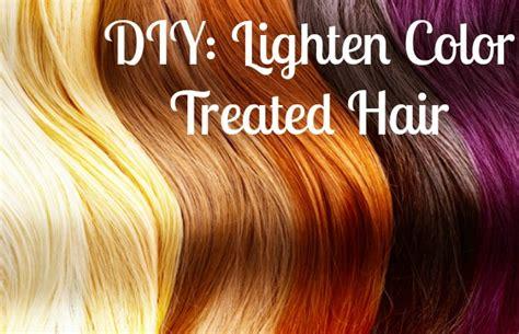 diy lighten color treated hair chelsea crockett
